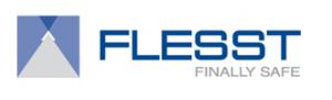 Het logo van Flesst